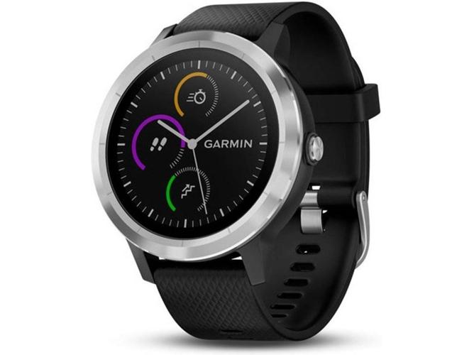 2f0e01191d80 Reloj deportivo GARMIN Vivoactive 3 (Bluetooth - 7 días de autonomía -  Negro)