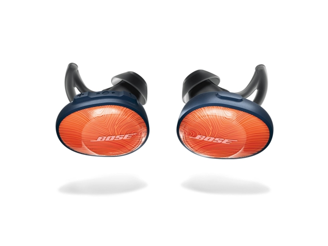 Auriculares Bluetooth True Wireless BOSE SoundSport Free (In ear - Micrófono - Atiende llamadas - Naranja) — In Ear | Micrófono | Responde llamadas