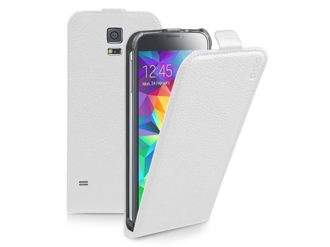 809cb1bd536 Funda SBS Flip Samsung Galaxy S5 Mini blanco - WORTEN