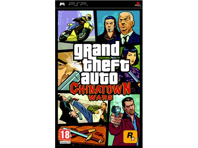 Juego PSP GTA China Town Wars