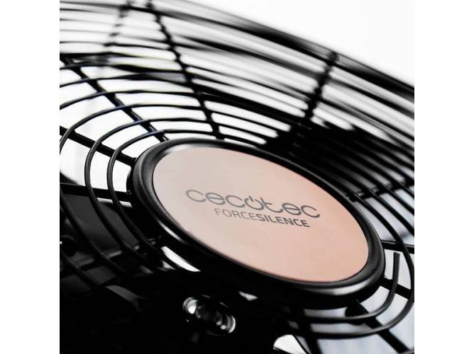 Ajustable Cecotec Ventilador Industrial ForceSilence 3000 Pro 3 Aspas Met/álicas de 18 45cm Acabado Negro Motor de Cobre 100W 3 Velocidades