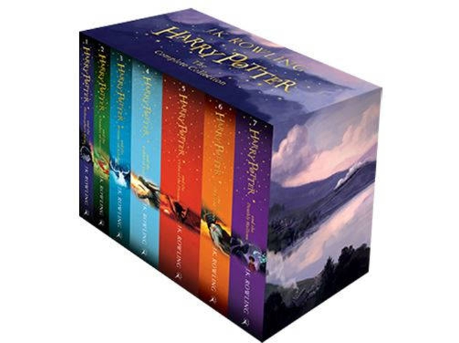 Libro Harry Potter Box Set: The Complete Collection: Children'S Paperback de J.K. Rowling