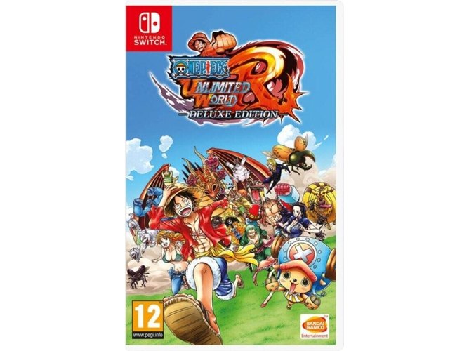 Juego Nintendo Switch One Piece Unlimited World Red