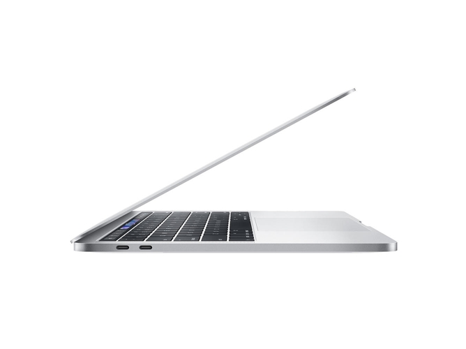 MacBook Pro Pantalla Retina TB APPLE Plata 2018 (13.3'' - Intel Core i5 - RAM: 8 GB - 512 GB SSD PCIe - Intel Iris Plus 655) — OS Sierra | QHD