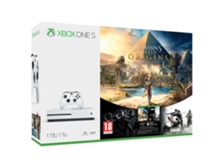 Xbox One S 1 TB + Assasin's Creed + Tom's Clancy's Rainbow Six Siege