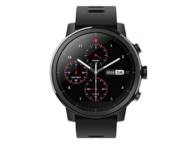 bf943afc4b78 Reloj deportivo XIAOMI Amazfit 2 Stratos (Bluetooth - 5 días de autonomía -  Pantalla táctil - Negro)