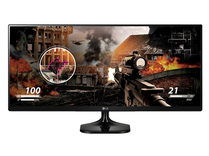Monitor LED 25'' LG Ultrawide  25UM58-P — LED | Resolución: