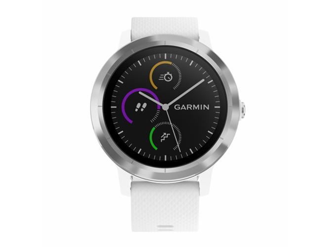 4ad2eb9ebe6e Reloj deportivo GARMIN Vivoactive 3 (Bluetooth - 7 días de autonomía - Pantalla  táctil - Blanco)