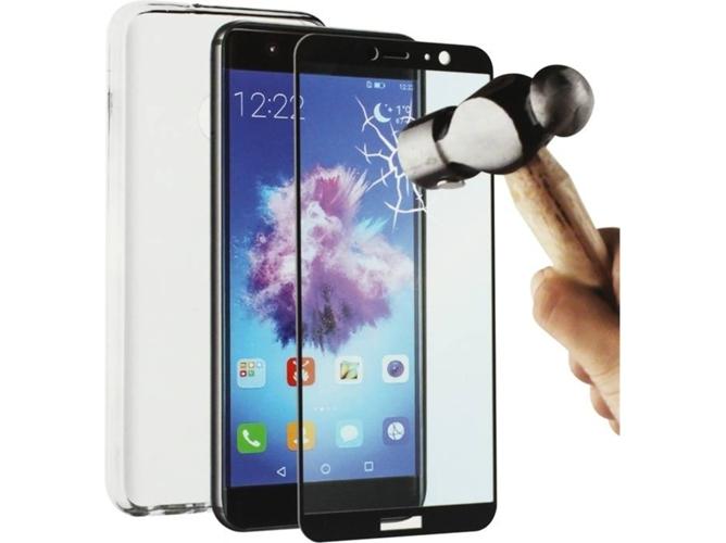 db13b1e4c80 Carcasa y Protector de Pantalla Huawei P Smart MUVIT Crystal soft  Transparente