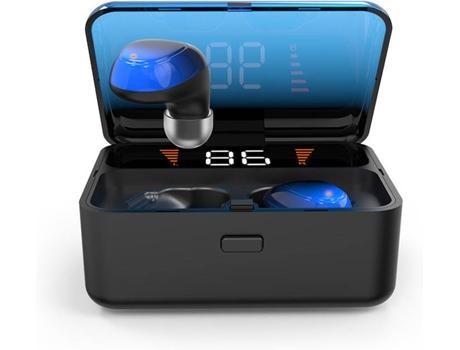 Auriculares Bluetooth JOYROOM OHPA ES01 (In Ear - Micrófono - Azul)