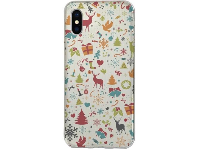 70ebd936110 Funda Navidad SBS iPhone X - WORTEN