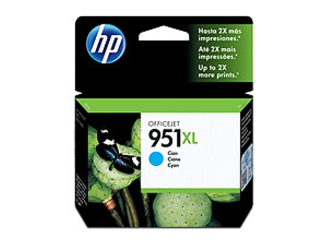 Cartucho de tinta Original HP 951XL de alta capacidad Cian para HP OfficeJet Pro 251dw, 276dw, 8100, 8600, 8600 Plus, 8610, 8615, 8620