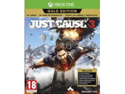 Preventa XBOX One Just Cause 3 Gold Edition