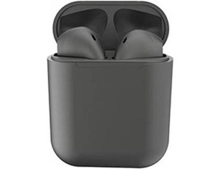 Auriculares Bluetooth True Wireless KLACK InPods 12 (In Ear - Negro Metalizado)