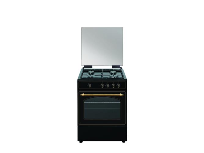 Cocina de gas 4 quemadores vitrokitchen ru6060b worten for Cocinas a gas precios