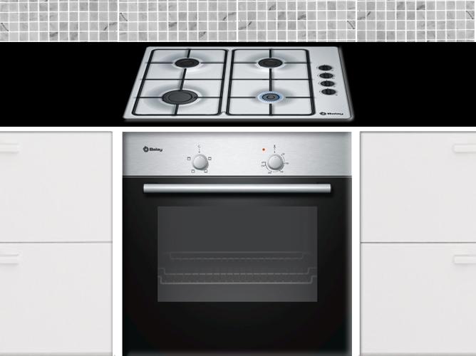 Horno de gas natural precio conjunto cocinahorno gas with horno de gas natural precio top - Cocinas balay gas ...