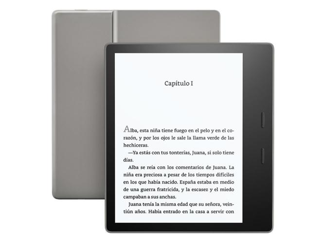 ac901a34b E-Book KINDLE Oasis Alta Resolución 8 GB Wifi 7'' Grafito - WORTEN