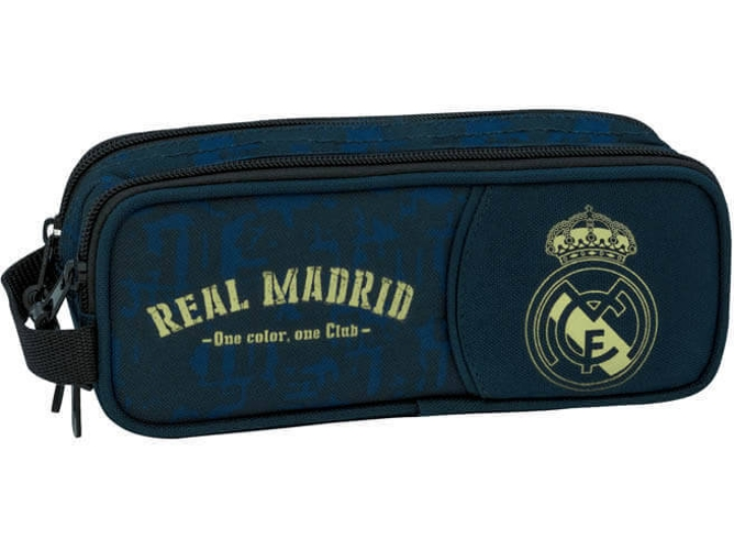 Estuche REAL MADRID Doble (21x8x6cm)