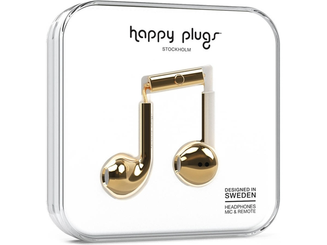 Auriculares HAPPY PLUGS Plus (Dorado)