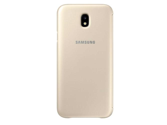 81c7cd0f3d2 Funda SAMSUNG Galaxy J7 2017 Wallet Dorado - WORTEN