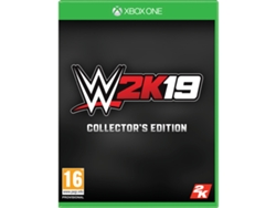 Preventa Xbox One Wwe 2K19 Collector Edition