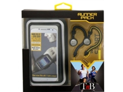 Auriculares con cable TNB SPPACK1 en negro