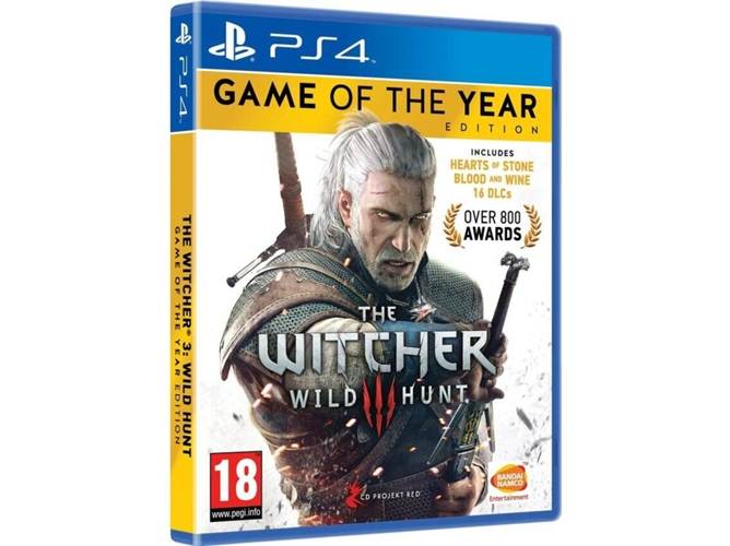 Juego PS4 The Witcher 3: Wild Hunt GOTY Edition