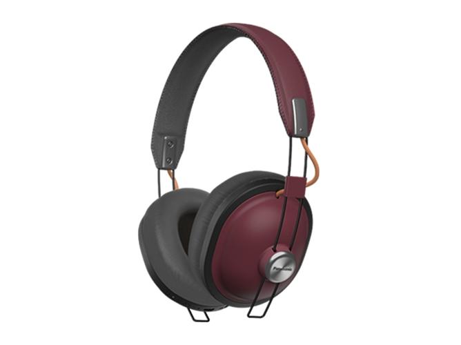 edba3539d62 Auriculares Bluetooth PANASONIC Retro RP-HTX80BE (Over ear - Micrófono -  Atiende llamadas - Rojo)
