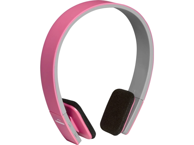 Auriculares Bluetooth DENVER ELECTRONICS BTH-204PINK (Multicolor)