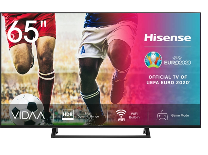 TV HISENSE 65A7300F (LED - 65'' - 165 cm - 4K Ultra HD - Smart TV) — TV & Series Streaming - Casual Gaming