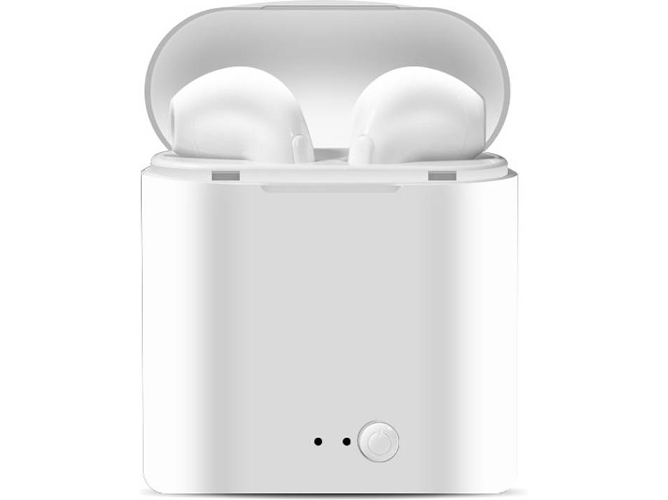 Auriculares Bluetooth True Wireless I7 (In-Ear - Blanco)