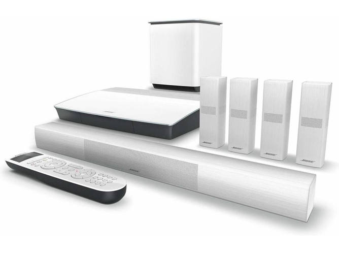 Sistema Home Cinema BOSE Lifestyle 650 Blanco (Canales: 5.1 - Wi-Fi - Bluetooth) — Canales: 5.1 | Bluetooth