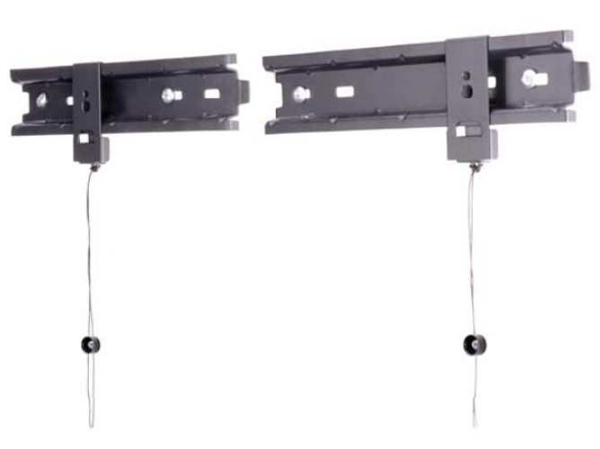 Soporte de Pared para TV  ROSS LP2SRFS-RO  (hasta 60 kg - Negro)