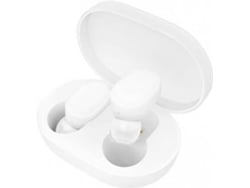 Auriculares Bluetooth True Wireless XIAOMI Mi Earbuds (In Ear - Microfóno - Blanco)