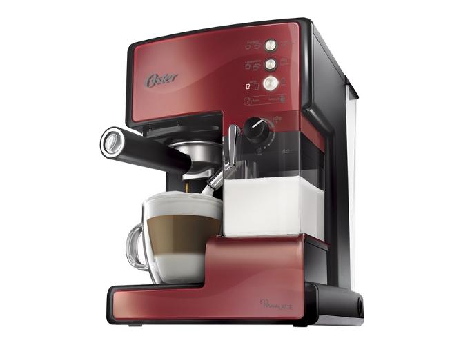Cafetera expresso manual oster bvstem6601r rojo worten - Cafetera con molinillo incorporado ...