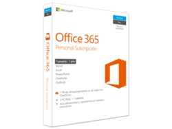 MICROSOFT Office 365 Personal 2016 - 1 año
