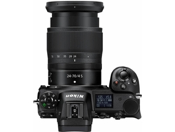 Cámara Mirrorless NIKON Z6 24-70MM (24.5 MP - Sensor: Full-Frame - ISO: 100 a 51 200) — Cuerpo + 1 Objetivo 24-70MM