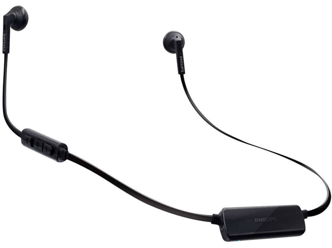 Auriculares Bluetooth PHILIPS SHB5250 (In ear - Micrófono - Negro) — In Ear