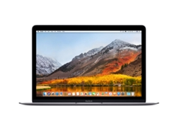 MacBook Pantalla Retina 12'' APPLE Gris Espacial 2018 (i7, RAM: 16 GB, Disco duro: 512 GB SSD)