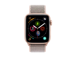 APPLE Watch S4 GPS 44 mm Aluminio en Oro y Correa Loop Deportiva Rosa Arena