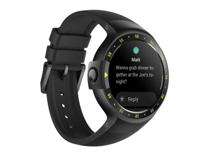 ade98533e792 Reloj deportivo MOBVOI Ticwatch S (Bluetooth - Hasta 48 h de autonomía - Pantalla  táctil - Negro)