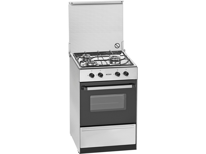 Cocina de gas 3 quemadores becken s 5055 worten for Cocinas de gas butano balay