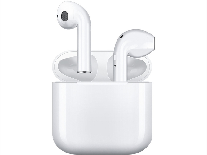 Auriculares Bluetooth True Wireless QIANAO i9s (In ear - Blanco)