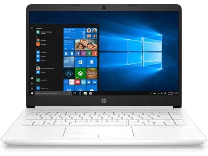 Portátil HP 14-DF0003NS - 4XZ51EA (14'' - Intel Celeron N4000 - RAM: 4 GB - 64 GB eMMC - Intel UHD 600) — Windows 10 Home S | HD