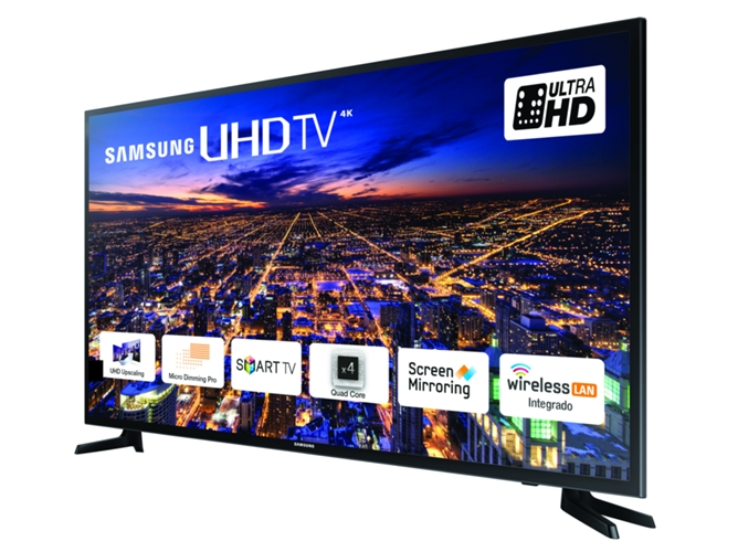 01cb0faf27e0f TV SAMSUNG 55JU6060 (LED - 55   - 140 cm - 4K Ultra HD