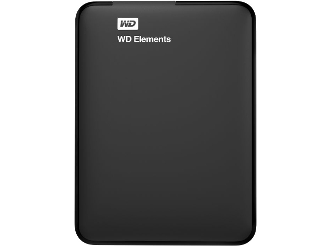 Disco Duro Portátil 2 TB  WD Elements