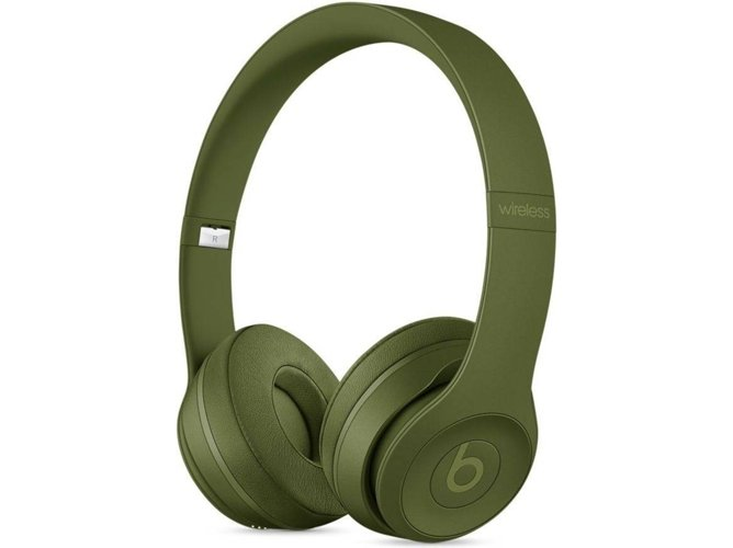 f870048072cc Auriculares Bluetooth BEATS Solo3 (On ear - Micrófono - Verde)