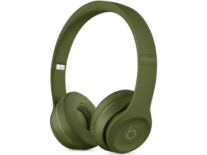 ff9b308b599 Auriculares Bluetooth BEATS Solo3 (On ear - Micrófono - Verde)