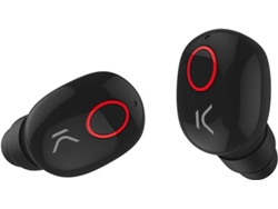 Auriculares Bluetooth True Wireless KSIX Freepods (In Ear - Micrófono - Noise Cancelling - Negro) — .