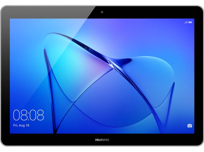 Tablet HUAWEI MediaPad T3 - 53018634 (9.6'', 16 GB, RAM: 2 GB, Gris) — HD | 5 MP + 2 MP